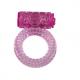 Anillo Vibrador Power Ring Bubbles lila1