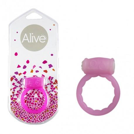 Anillo Vibrador Power Ring Symbol rosa
