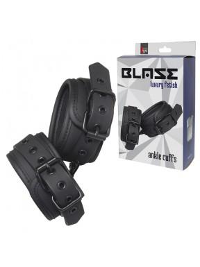 Esposas de tobillos BLAZE negro-1