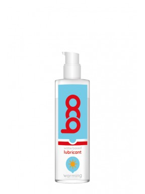 Lubricante BOO base de agua Efecto Calor 150 ml..