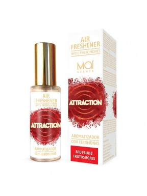 Aromatizador con Feromonas Frutos Rojos ATTRACTION MAÏ