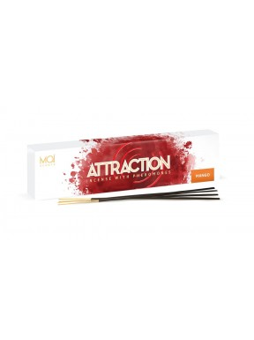 Caja de 20 Inciensos Feromonas Mango ATTRACTION MAÏ