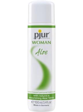 Lubricante Pjur Woman Aloe Vera 100 ml.