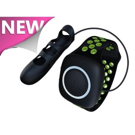 Dedal Vibrador TOUCHE negro-verde S