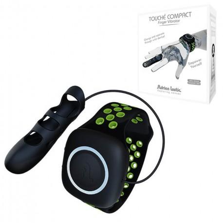 Dedal Vibrador TOUCHE negro-verde S-8