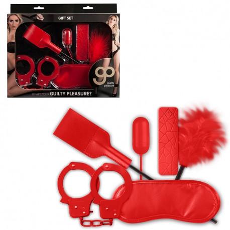 Kit 5 piezas GIFT GP rojo