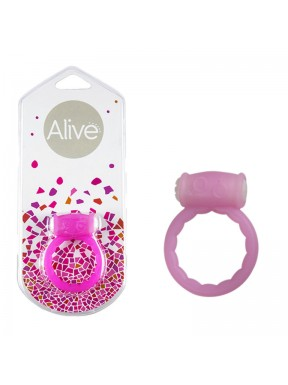 Anillo Vibrador Power Ring Symbol rosa1