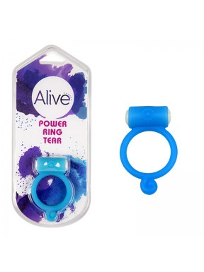 Anillo Vibrador Power Ring Tear azul1