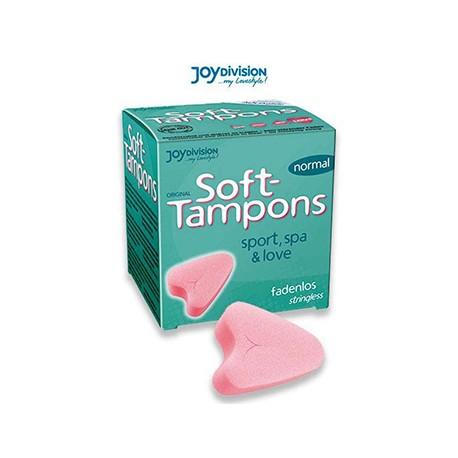 Tampones Soft normal 3 unidades