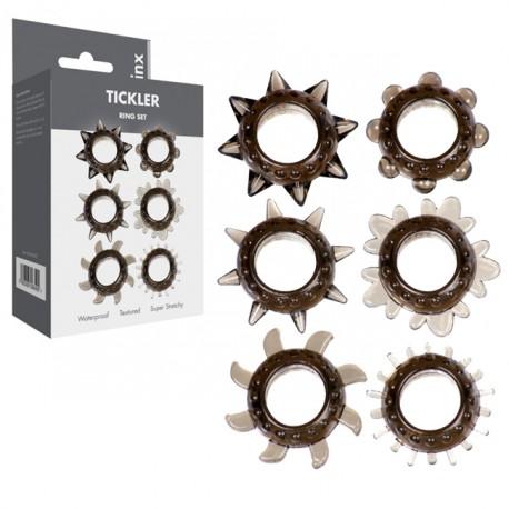 Kit 6 anillas pene Tickler