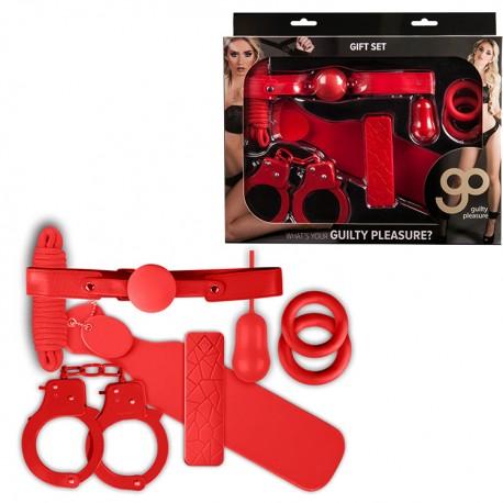 Kit 7 piezas GIFT GP rojo