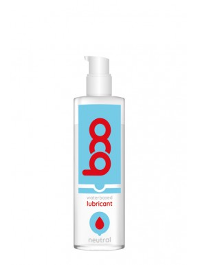 Lubricante BOO base de agua neutro 250 ml.