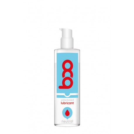 Lubricante BOO base de agua neutro 250 ml.