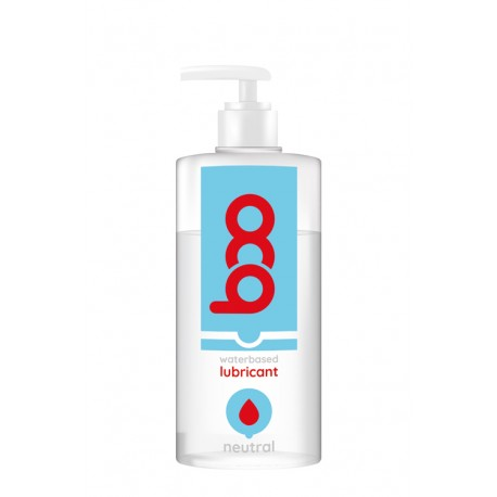 Lubricante BOO base de agua neutro 500 ml.