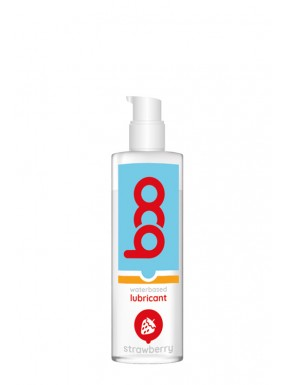 Lubricante BOO base de agua Fresa 150 ml.