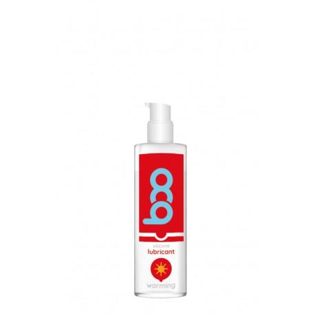 Lubricante BOO base de silicona Efecto Calor 50 ml.