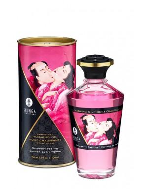 Aceite masaje afrodisíaco HOT KISS SENSACIÓN FRAMBUESA