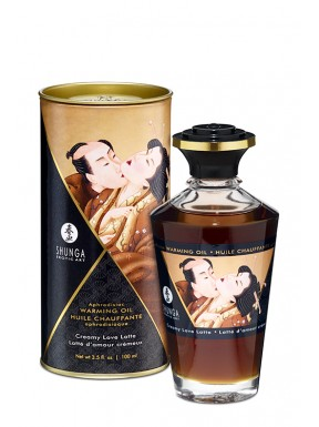 Aceite afrodisÍaco HOT KISS CREAMY LOVE LATTE