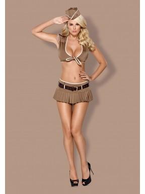Disfraz Obsessive de Mujer Soldado 814