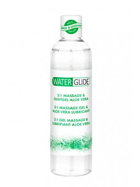 Lubricante Waterglide 2 EN 1 ALOE VERA 300 ml.