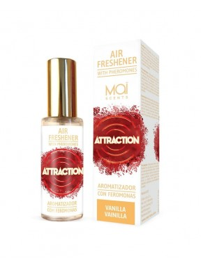Aromatizador con Feromonas Vainilla ATTRACTION MAÏ
