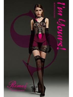 Mini Dress Rimes 7101 negro