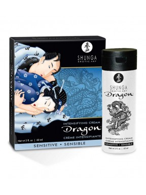 Crema Dragón de Shunga Sensitive