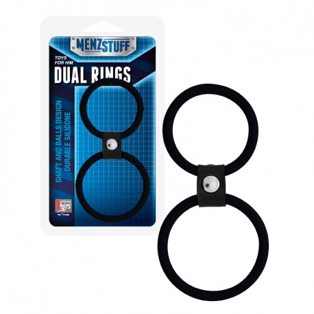 Anilla MENZSTUFF Dual Rings negro