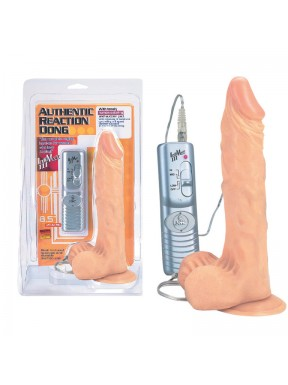 Vibrador Realístico con Succión AUTHENTIC REACTION