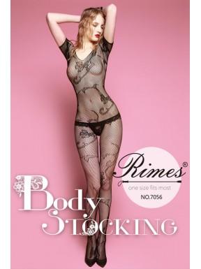 Bodystocking Rimes 7056 negro