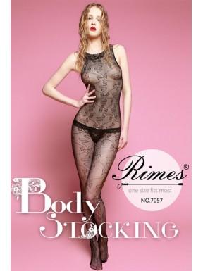 Bodystocking Rimes 7057 negro