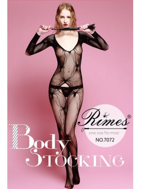 Bodystocking Rimes 7072 negro
