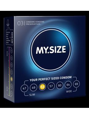 Preservativo 3 und. My size 53mm