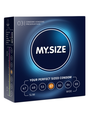 Preservativo 3 und. My size 57mm