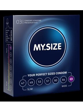 Preservativo 3 und. My size 69mm