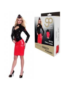 Falda de Sargento GP Datex negro-rojo
