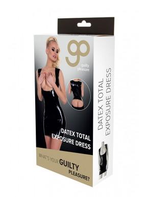 Vestido Ajustado Exposición Total GP Datex negro-3