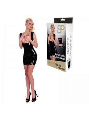 Vestido Ajustado Exposición Total GP Datex negro-4