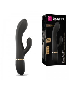 Vibrador Doble Recargable GLAM RABBIT