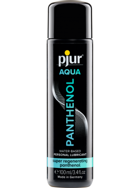 Lubricante Pjur Base de Agua PANTHENOL 100 ml.