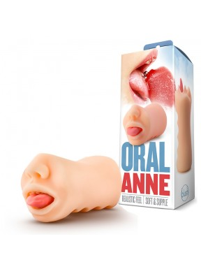 Masturbador Masculino ORAL ANNE X5 Men