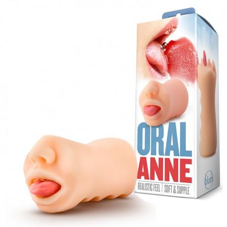 Masturbador Masculino ORAL ANNE X5 Men