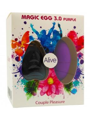 Huevo Vibrador Magic Egg 3.0 con mando a distancia