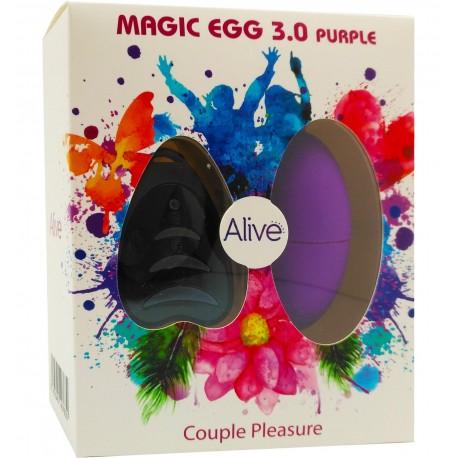 Huevo Vibrador Magic Egg 3.0 con mando a distancia-negro