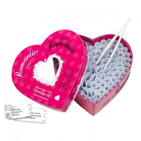 Juego Corazón Romántico