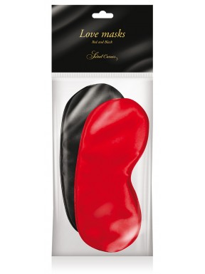 Pack de Antifaz Negro-Rojo