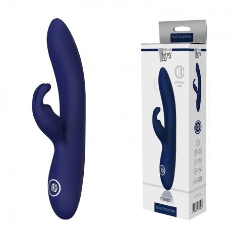 Vibrador Doble THEMIS Blue Evolution