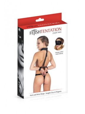 Collar con Esposas Fetish Tentation