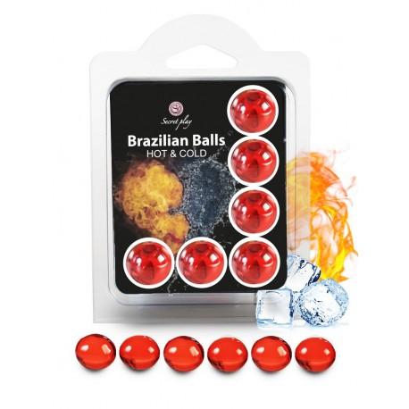 Set de 6 Brazilian Balls Hot&Cold