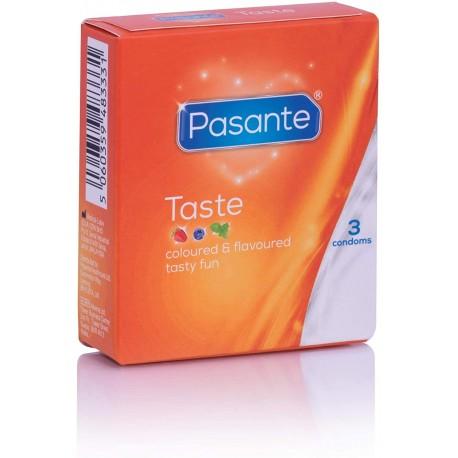 Preservativos Pasante Taste 3 uds.